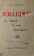 GRÉOUX-LES-BAINS- SON HISTOIRE, SES EAUX, SES HISTOIRES (EMILE POITEVIN, 11/1973) - Geographie