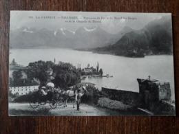 L22/708 TALLOIRES - Panorama Du Lac Et Du Massif Des Bauges, Vu De La Chapelle Du Thoron - Talloires
