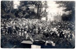 4 Carte Photo Identiques - RIBERAC - Années 1920 - Rassemblement Protestant ? - Riberac