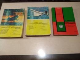 GREEK BOOK:ΤΕΧΝΟΛΟΓΙΑ ΑΕΡΟΣΚΑΦΩΝ: 3 Τόμοι, Μετάφραση από το αντίστοιχο του F.A.A., Εκδ. ΑΛΦΑ (1981), 318+414+218 Σελίδε - Books, Magazines, Comics