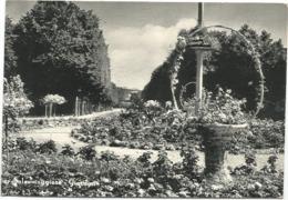 W5017 Salsomaggiore Terme (Parma) - Giardini / Viaggiata 1962 - Italia