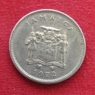 Jamaica 5 Cents 1972 KM# 46 Jamaique Jamaika - Jamaique