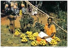 Carte Postale  Afrique En Couleurs Jeune Maman Nue  Hoa-Qui N° 3477   BT3 - Non Classés