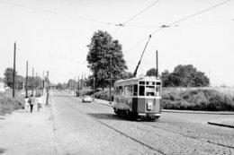 Lille. Rue Du Faubourg De Roubaix. Tramways Ligne HI. Cliché Jacques Bazin. 06-08-1964 - Tramways
