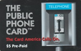 PREPAYD PHONE CARD STATI UNITI (E51.2.2 - Andere
