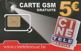 SIM WITH GSM BELGIO (E51.5.6 - Belgien