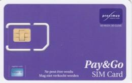 SIM WITH GSM BELGIO (E51.8.4 - Belgien