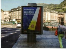 Visite Du President Francais E Macron,Co-Prince D'Andorre,Septembre 2019.Timbre Isard Des Pyrénées,avec Cachet Andorre - Andorra Francese