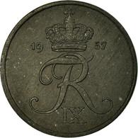 Monnaie, Danemark, Frederik IX, 2 Öre, 1957, Copenhagen, TB+, Zinc, KM:840.2 - Dänemark