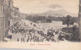NAPOLI-RIVIERA DI CHIAIA-CARTOLINA NON VIAGGIATA ANNO 1900-1904 - Napoli (Naples)