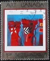 Canada (Scott No.1916  - Arts Canadiens / Canadian Arts) (o)  Metal Effect - 1952-.... Règne D'Elizabeth II