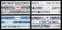 Canada (Scott No.2028-31 - Transport Urbain / Urban Ytansit) (o) Série / Set - 1952-.... Règne D'Elizabeth II