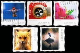 Canada (Scott No.2389-93 - Année De La Faune / Wildlife Year) (o) Série / Set - 1952-.... Règne D'Elizabeth II