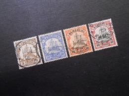 D.R.Mi 7/10/12/13 - 1900  Deutsche Kolonien ( Kamerun) - Mi 15,30 € - Kolonie: Kamerun