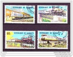 Djibouti, Train, Chemin De Fer, Locomotive, Pont, Bridge - Trains