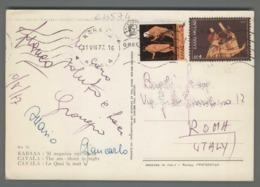 C4574 HELLAS Postal History 1977 AP 2 4 CAVALA (m) - Grecia
