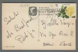 C4579 GREAT BRITAIN Postal History 1976 FLOWERS GRANDPA DICKSON 10p Cut BEDFORD (m) - 1952-.... (Elisabetta II)
