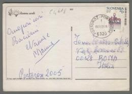 C4618 SLOVENIA Postal History 2005 KOMATNI GLAVNIK D PORTOROZ (m) - Slovenia