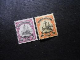 D.R.Mi 36/ 34*MLH  Deutsche Kolonien ( Deutsch-Ostafrika ) 1906 - Mi 10,00 € - Colony: German East Africa