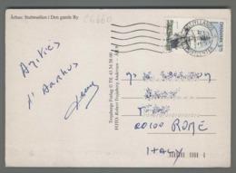 C4660 DANMARK Postal History 1993 SHIP ARHUS (m) - Danimarca