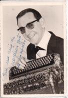 69 VILLEURBANNE - Photo Avec Autographe Jacky MALLEREY, 140 Cours Tolstoï - Accordéoniste Club Radio LILLE - Villeurbanne