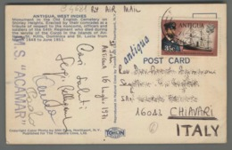 C4681 ANTIGUA Postal History 1971 KING GEORGE V (m) - Antigua E Barbuda (1981-...)
