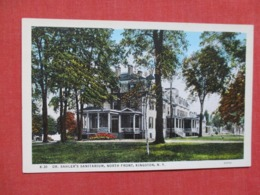 Dr. Sahler's Sanitarium   Kingston    New York      Ref   3658 - Saratoga Springs