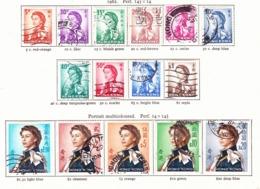 HONG KONG 1962 QEII Definitive Set Of 15 SG196-210 Used - Hong Kong (...-1997)