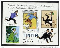 Bloc N° 28 - Tintin N° 3304 Année 2000 Faciale 0,55 Euros - Neufs