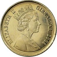 Monnaie, Gibraltar, Elizabeth II, 10 Pence, 2008, Pobjoy Mint, SPL - Gibraltar