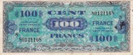 France - Billet De 100 Francs - Emissions Alliés - Série 1944 - Tesoro