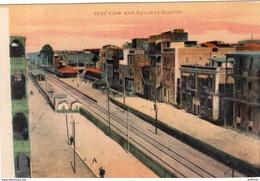 SUEZ VIEW AND RAILWAY STATION TBE - Suez