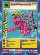 B - CARTE DIGIMON SHELLMON BO-09 FR BON ETAT - Trading Cards