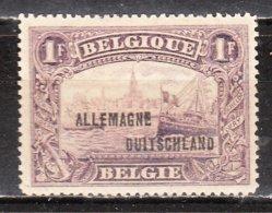 OC51*  Timbre De 1915 Surchargé ALLEMAGNE-DUITSCHLAND - Bonne Valeur - MH* - LOOK!!!! - [OC38/54] Ocupacion Belga En Alemania