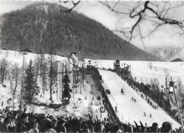 Sports - Saut à Ski: Chamonix-Mont-Blanc En Hiver, Concours Au Tremplin Olympique - Carte CAP Non Circulée - Winter Sports