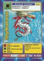 B - CARTE DIGIMON MEGASEADRAMON BO-31 FR TRES BON ETAT - Trading Cards