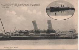 SAINT NAZAIRE  LE CHAMPAGNE  NAUFRAGE  LE 28 MAI 1915 - Saint Nazaire