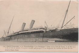 SAINT NAZAIRE  LE CHAMPAGNE  ECHOUE   LE 28 MAI 1915 - Saint Nazaire