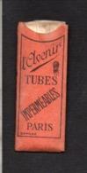"""Pochette De Tubes En Papier ( Environs 50 ) Pour Tabac,assemblés Pour Cigarettes """"L'Avenir """" - Around Cigarettes"""
