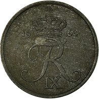 Monnaie, Danemark, Frederik IX, Ore, 1963, Copenhagen, TB+, Zinc, KM:839.2 - Dänemark