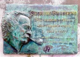 Paris XIV - Plaque Georges Brassens (Edition à Tirage Limité) - Paris (14)