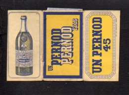 """Pochette Papier Pour Tabac à Rouler Ou Cigarettes / Publicité """" Pernod 45 """" - Sigaretten - Toebehoren"""