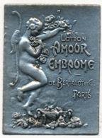 Rare Etiquette Parfum Argent Bertalot Amour Embaume - Labels