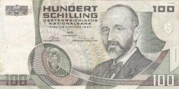 Autriche - Billet De 100 Schilling - 2 Janvier 1984 - Eugen Böhm Von Bawerk - P150 - Oesterreich