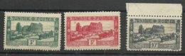 Tunisie N° 177 **, 178 **, 179** Quelques Manques De Gomme Sur Le 179 Ainsi Qu'une Légère Rousseur - Tunesië (1888-1955)