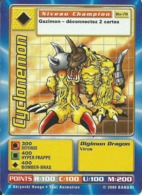 B - CARTE DIGIMON CYCLONEMON BO-78 FR BON ETAT - Trading Cards