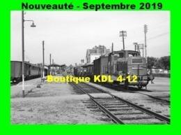 AL 600 - Train - Locotracteur CFD N° 020 C 113 En Gare D'AUTUN - Saône Et Loire - CFD Morvan - Autun