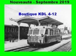 AL 601 - Autorail Billard A 75 D En Gare D'AUTUN - Saône Et Loire - CFD Morvan - Trains