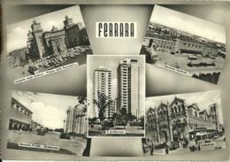FERRARA  5 Vedutine Con Stazione Dei Treni Cattedrale Castello - Ferrara