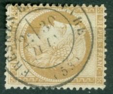 Cad Fresnes En Woevre Meuse  Sur 55 B/TB - Marcophily (detached Stamps)